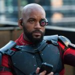 """This image released by Warner Bros. Pictures shows Will Smith in a scene from, """"Suicide Squad."""" (Clay Enos/Warner Bros. Pictures via AP) [CopyrightNotice: © 2015 Warner Bros. Entertainment Inc., Ratpac-Dune Entertainment LLC and Ratpac Entertainment, LLC]"""